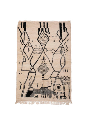 Atomic Beni Mirit New Moroccan Rug