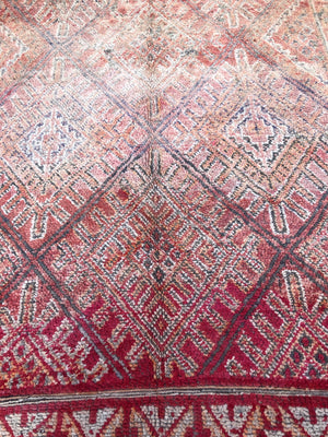 William Beni Mguild Vintage Moroccan Rug