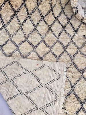 Rayie Beni Ourain Vintage Moroccan Rug