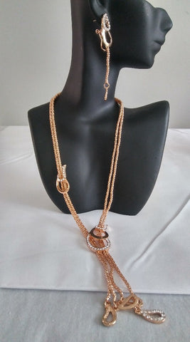 African Jewelry Set, Include Ring, Bracket, Earrings and necklace