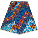 6 Yards High Quality Polyester Wax Ankara Fabric African Cotton  Print Africaine for Dress