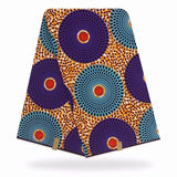 6 yards  African wax print fabric Ankara print Circle African fabric Ankara wholesale cotton polyester wax fabric for dress