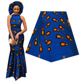 Elegant Africa Ankara Prints Batik Fabric Guaranteed Real Wax Patchwork For Women Party Dress Crafts 100% Cotton Best Quality
