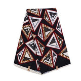 100% Polyester Ankara Fabric African Wax Fabric Real Dutch Wax Fashion Pattern High Quality 6yards Africa Fabric for Party Dress