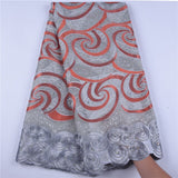 Swiss Voile Lace Fabric High Quality Cotton Nigerian Lace Fabric For Women A1614