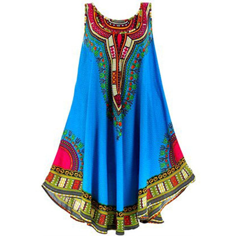 African Clothes Dresses For Women Summer Fashion Dashiki Casual Dress Vetement Femme Robe Africaine 3d africa clothing