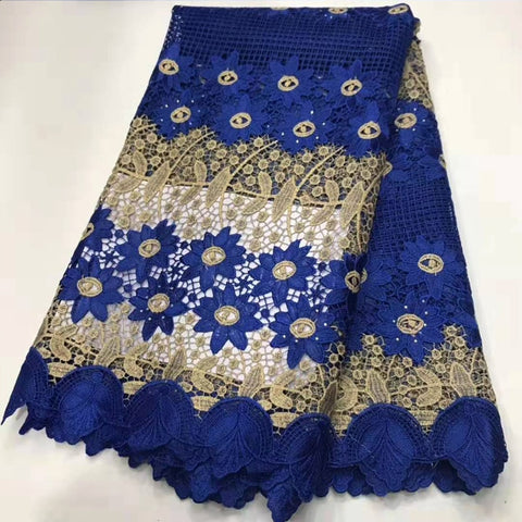 African lace fabric heavy beaded embroidery African cotton fabrics Swiss voile lace popular Dubai style