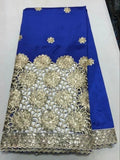 New Arrival High Quality African George Lace Fabric, Sequin Fabric For Wedding