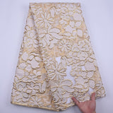 French New Design Gilding Tulle Lace Fabric African Lace Fabric Swiss Embroidery Lace For Nigerian Wedding Dress Evening