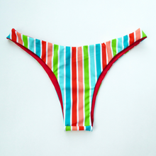 Retro High Hip Brazilian Bikini Bottoms - Small