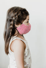 KIDS! Ages 5-10 Pink Cheetah Mask