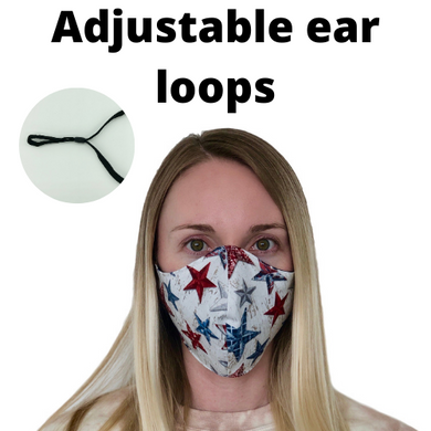 Adjustable America Face Mask