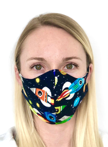 $5 Sale Mask! Space Ship Cotton Face Mask
