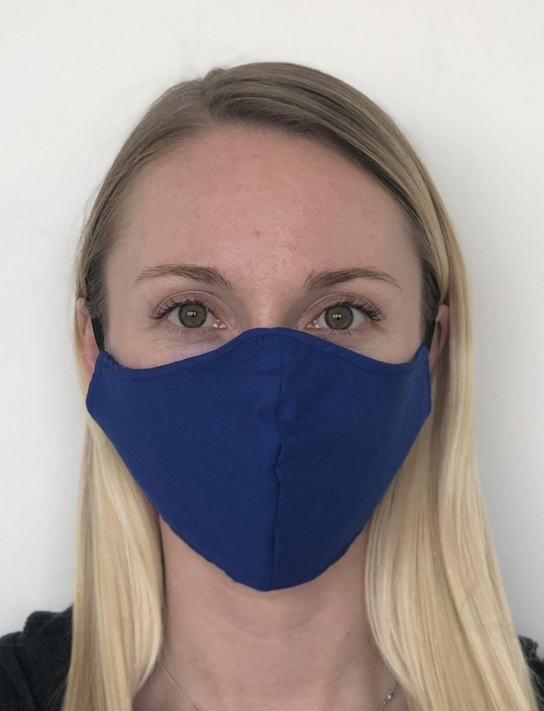 Royal Blue Cotton Face Mask