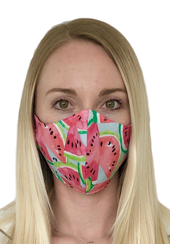 Watermelon Cotton Face Mask