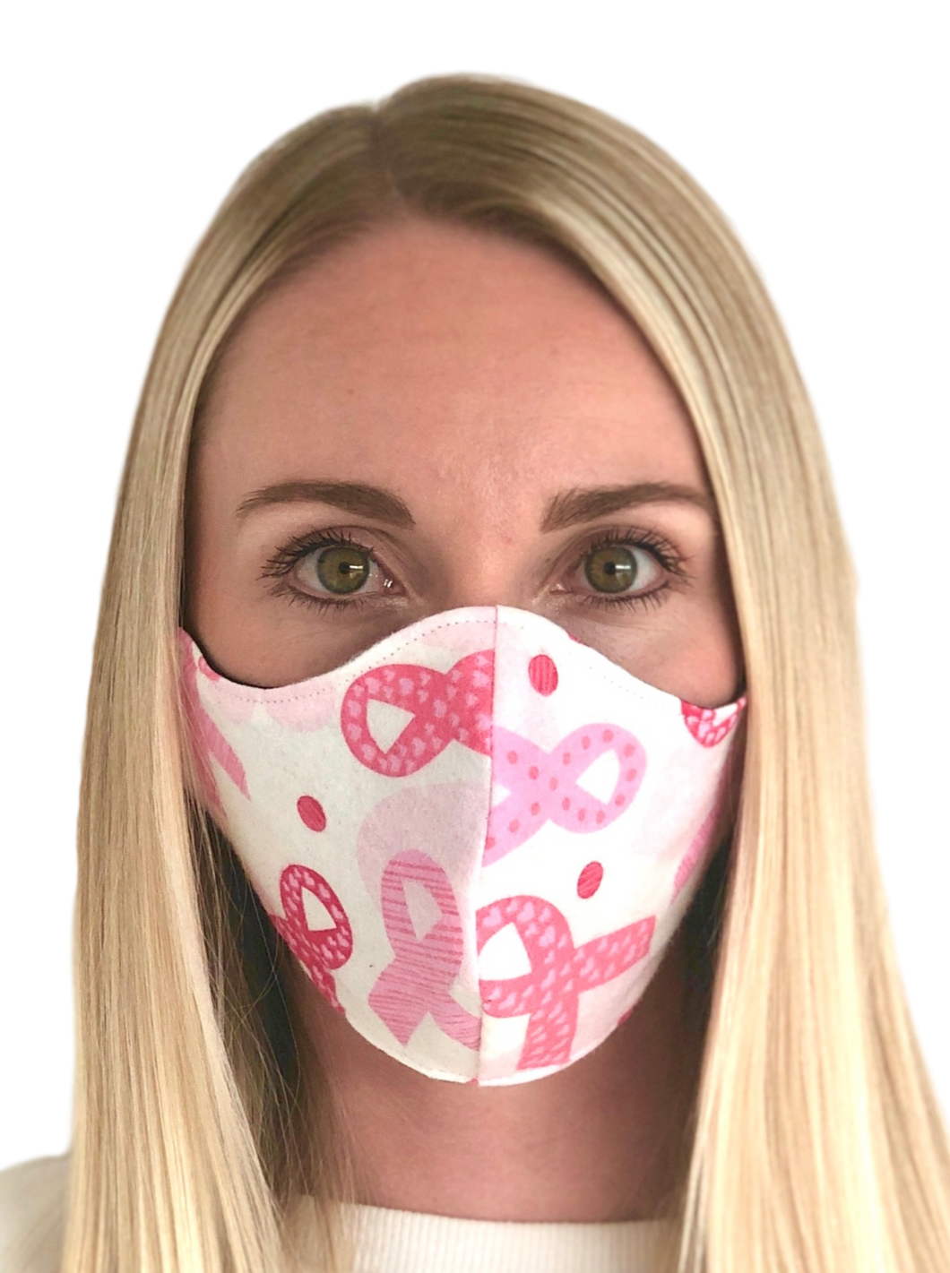 Breast Cancer Cotton Face Mask
