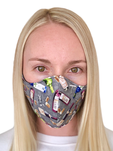 !!NEW!! Wine Face Mask- LIMITED EDITION