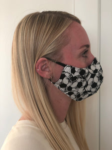 Soccer Cotton Face Mask