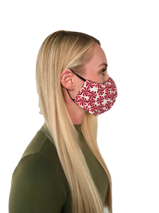 Candy Cane Cotton Face Mask