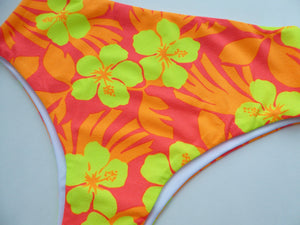 High Waisted  Brazilian Bikini Bottoms