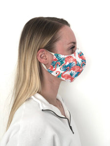$5 Sale Mask! Flamingo Cotton Face Mask