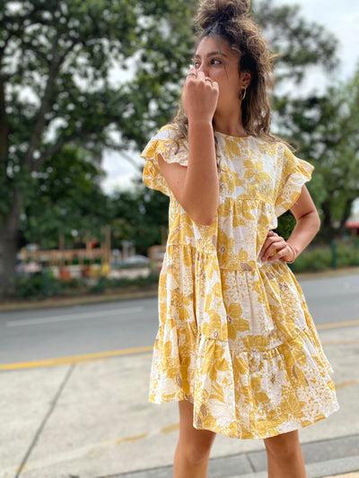 SUNFLOWER SANDS dress