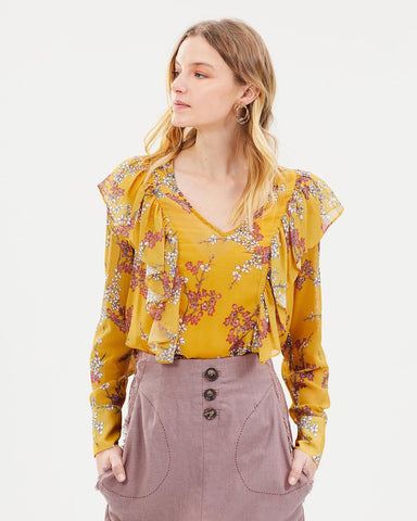 Golden blossom top