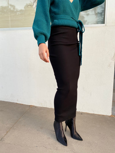 COLLINS Knitted Pencil Skirt