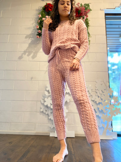 Marshmellow Knitted set
