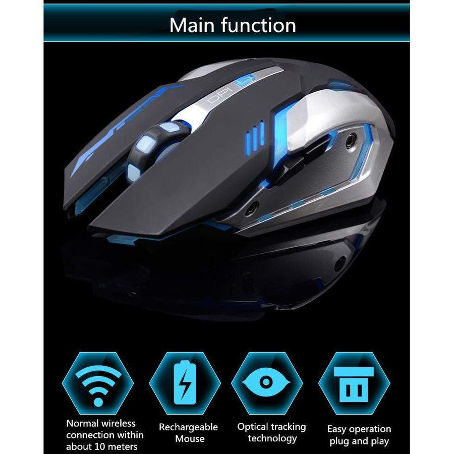 Rechargeable Silent Wireless Mouse