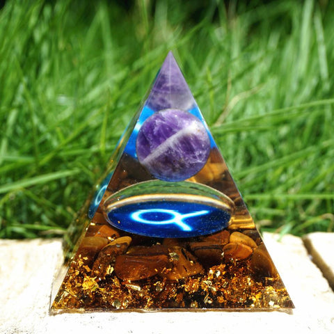 Pirâmide Orgonite do Signo Touro