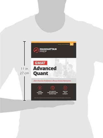 GMAT Advanced Quant: 250+ Practice Problems & Bonus Online Resources (Manhattan Prep GMAT Strategy G