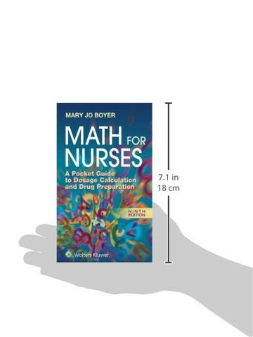Math For Nurses: A Pocket Guide to Dosage Calculation and Drug Preparation