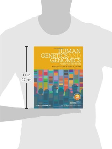Human Genetics and Genomics, Includes Wiley E-Text