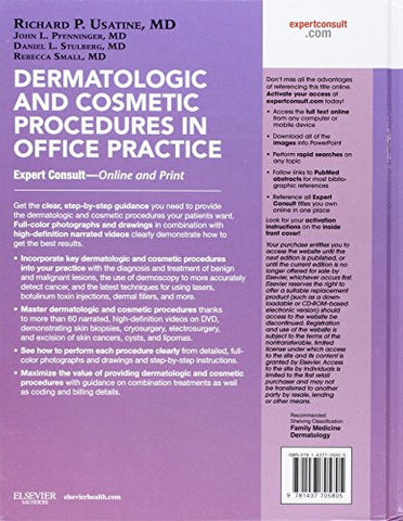 Dermatologic and Cosmetic Procedures in Office Practice: Expert Consult - Online and Print, 1e