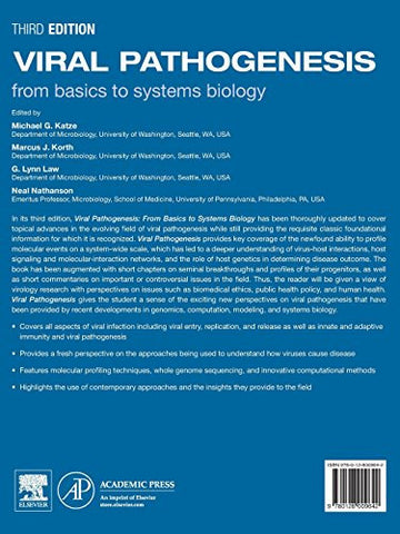 Viral Pathogenesis, Third Edition: From Basics to Systems Biology