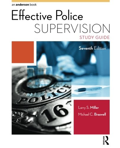 Effective Police Supervision Study Guide