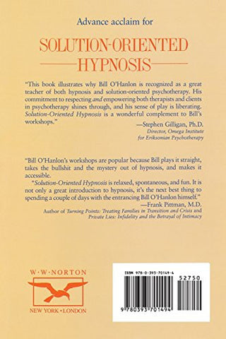 Solution-Oriented Hypnosis: An Ericksonian Approach