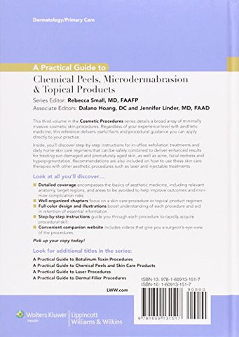 A Practical Guide to Chemical Peels, Microdermabrasion & Topical Products (Practical Guide To... (Li