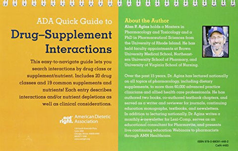 ADA Quick Guide to Drug-Supplement Interactions