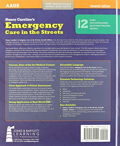 Nancy Caroline's Emergency Care in the Streets, Vol. 2