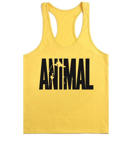 Mens Gymwear Animal Tank