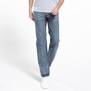 Mens Nostalgic Regular Straight Jeans