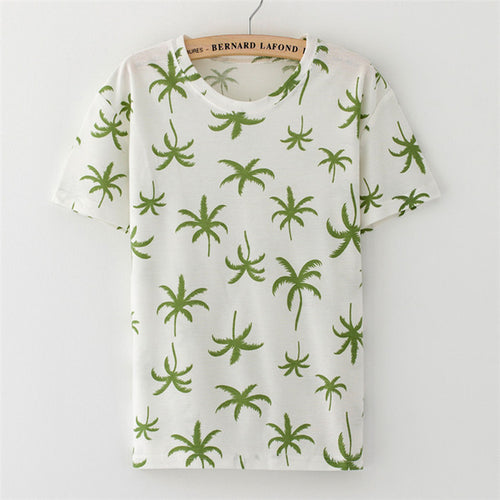 Support Cannabis Print Tee