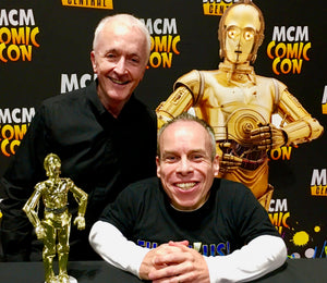 Signing with Anthony Daniels