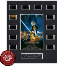 Star Wars Return of the Jedi Film Cell Signed by Warwick Davis