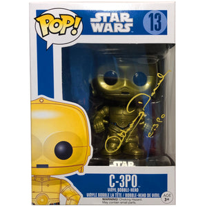 C-3PO Pop!™ Figure signed by Anthony Daniels