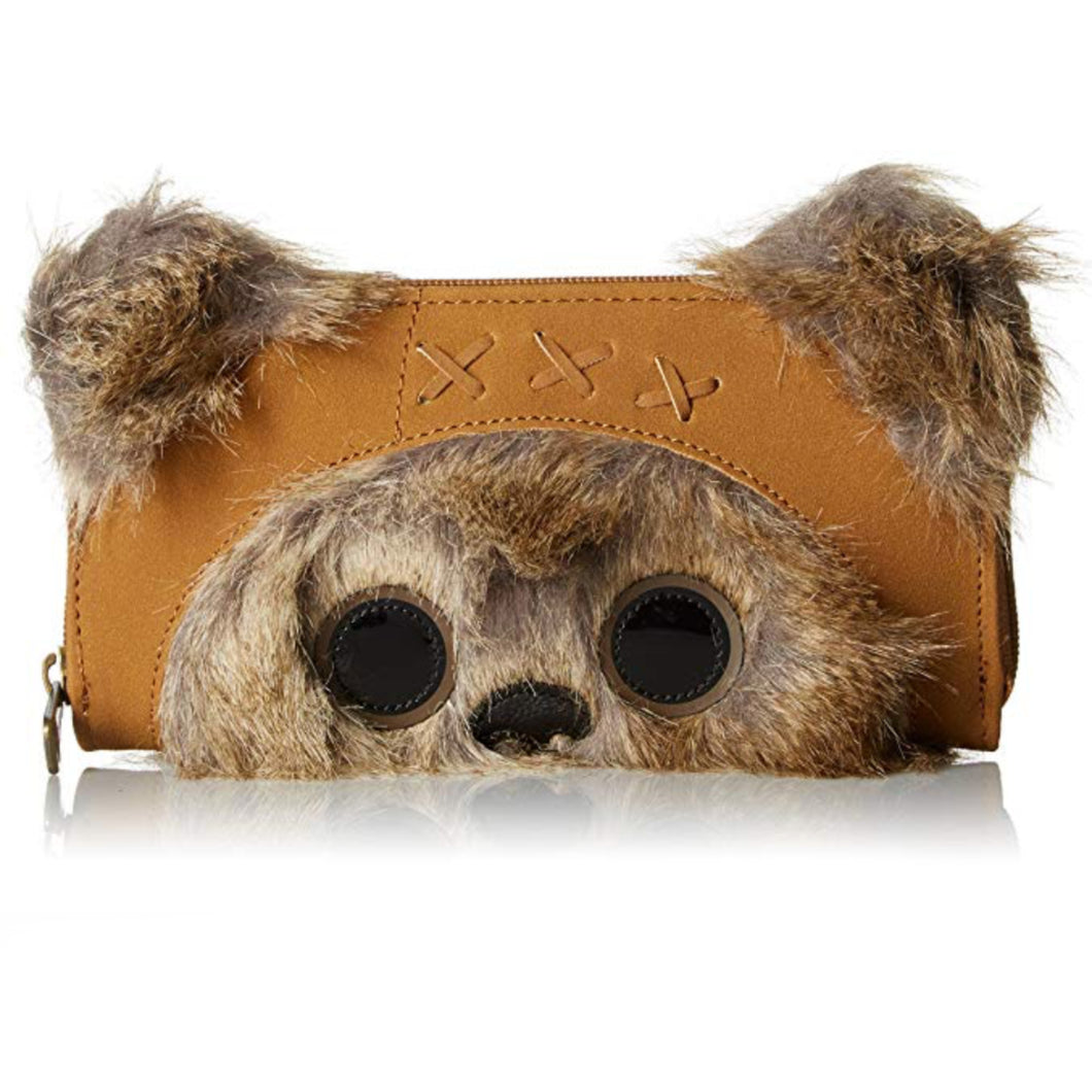 Wicket the Ewok Purse/Wallet signed by Warwick Davis