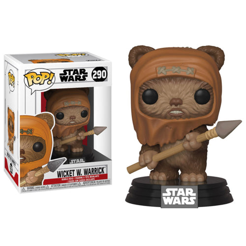 Wicket W. Warrick Pop! Figure signed by Warwick Davis