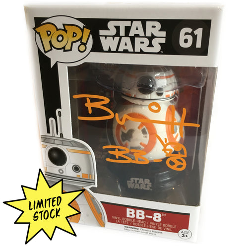 BB-8 Pop! signed by Brian Herring